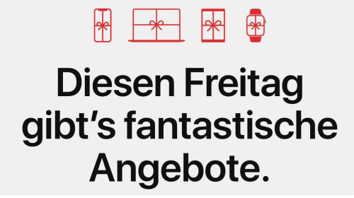 Apple Black Friday Angebote