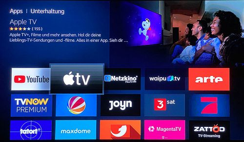 Apple Tv Plus Auf Fire Tv Cube