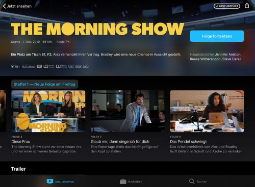 Apple Tv Plus Morning Show Neue Folgen
