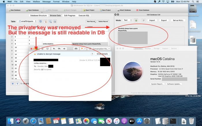 Db Email Key