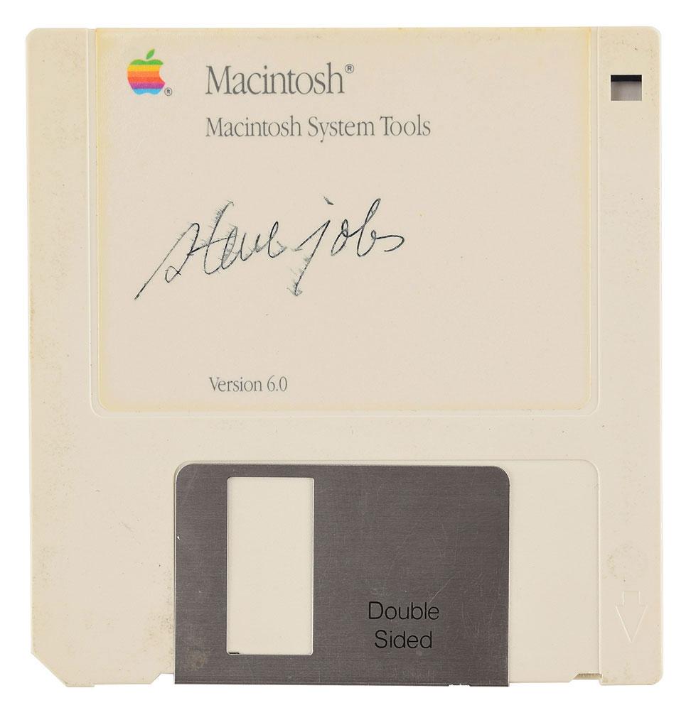 Diskette Steve Jobs