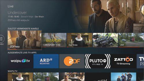 Fire Tv Neuer Menuepunkt Live