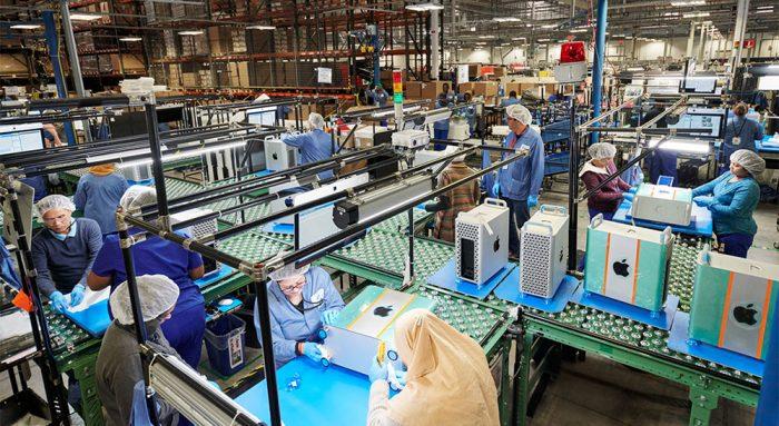 Mac Pro Fabrik Austin Texas