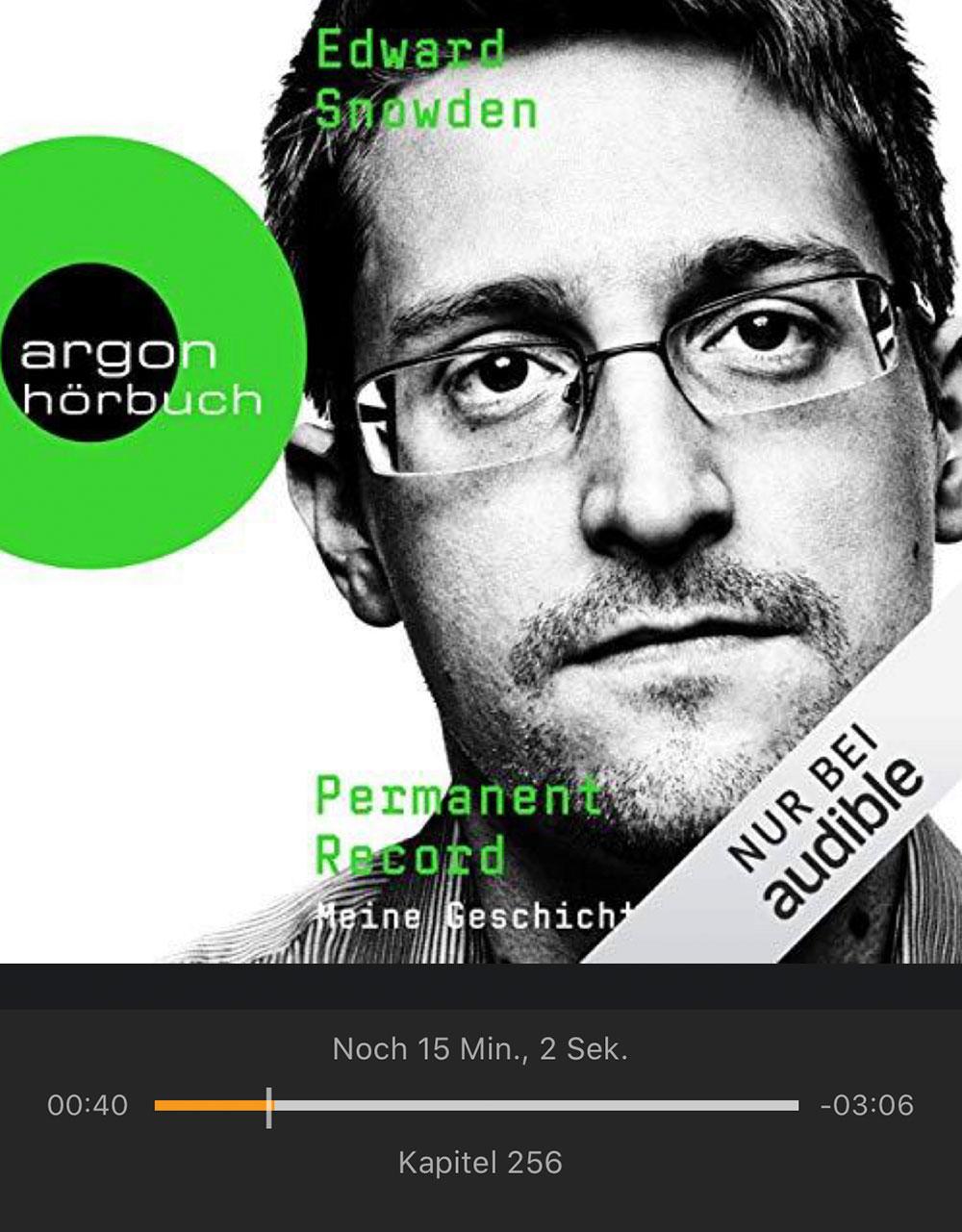 Snowden Hoerbuch