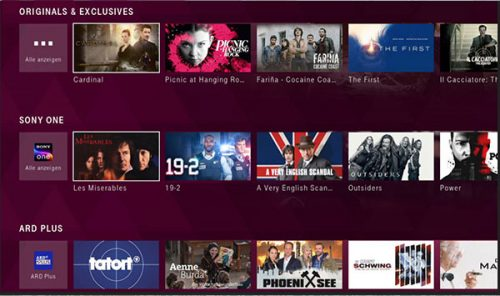 Sony One Bei Magentatv