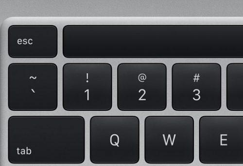 Tasten Macbook Pro
