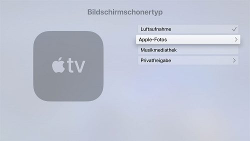 Apple Tv Bildschirmschoner