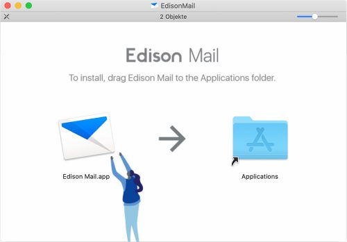 Edison Mail Mac Install