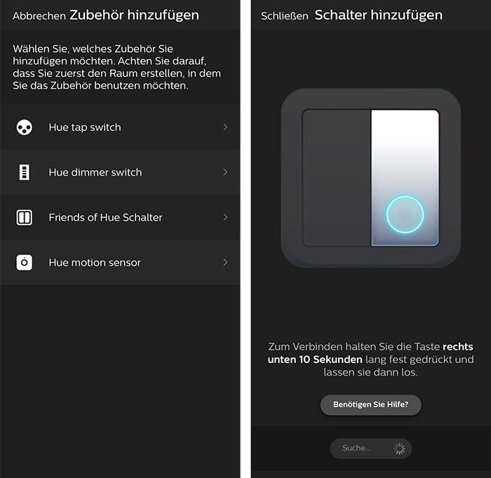 Friends Of Hue Lichtschalter Philips Hue App