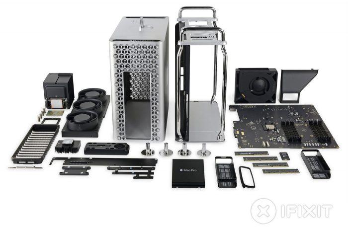 Mac Pro 2019 Zerlegt