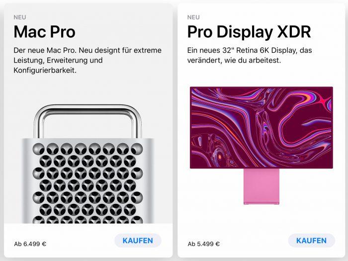 Mac Pro Einsteigerpreise