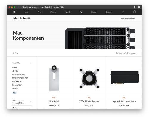 Mac Pro Zubehoer