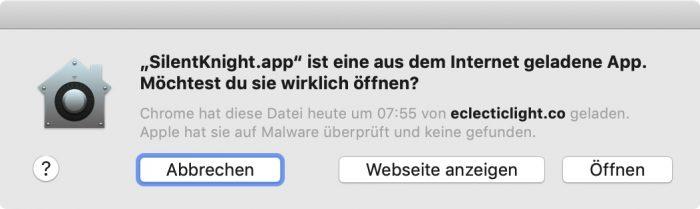 Malware Meldung