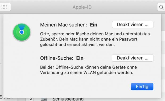 Wo Ist App Mac Ausschalten