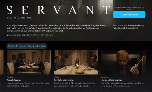 Apple Tv Plus Servant Folge 8