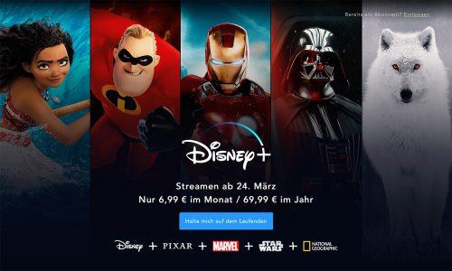 Disney Plus Start 24 Maerz In Deutschland