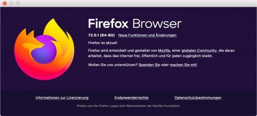 Firefox 72 0 1 Mac