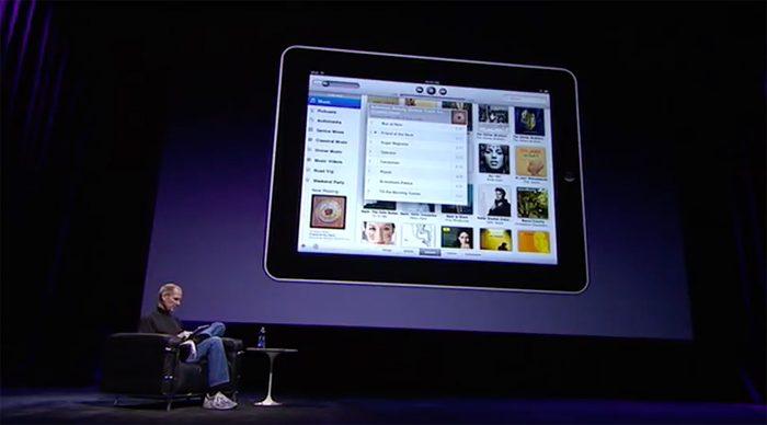 Ipad Praesentation Steve Jobs