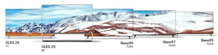 Lg Nanocell Oled 8k Line Up 2020