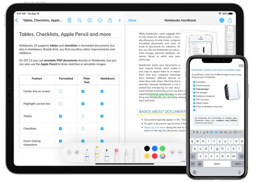 Notebooks 10 Ios App