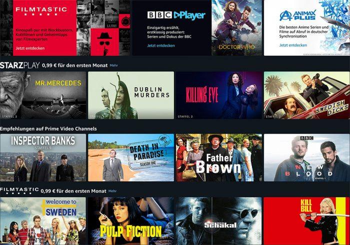 Prime Video Channels Serien