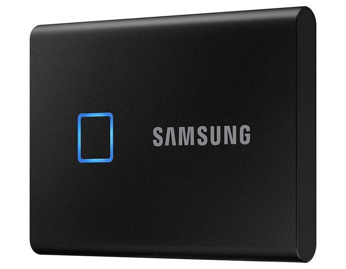Samsung Portable Ssd T7 Schwarz