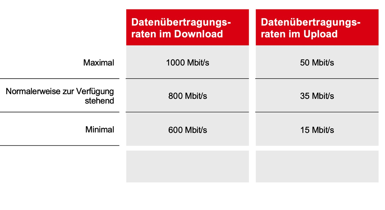 Vodafone Cablemax 1000