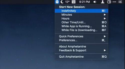 Amphetamine Mac App