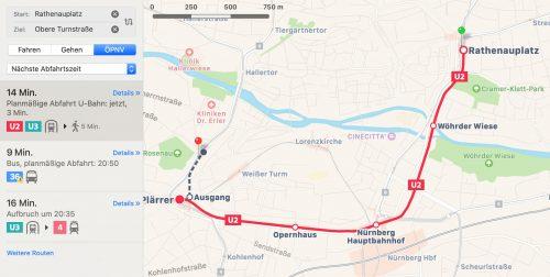 Bahn Nuernberg