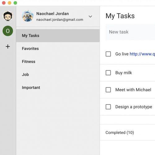Google Tasks Mac