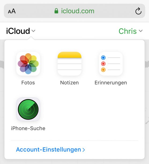 Icloud Mobile Browser