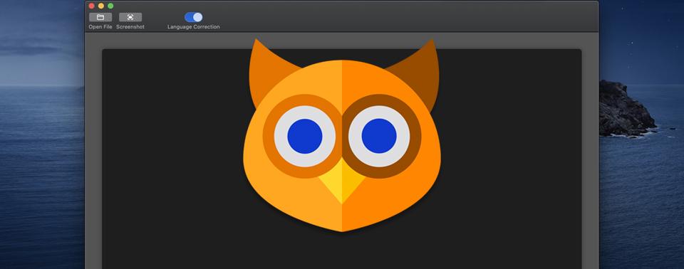 OwlOCR: Kleine Offline-Texterkennungs-App für den Mac