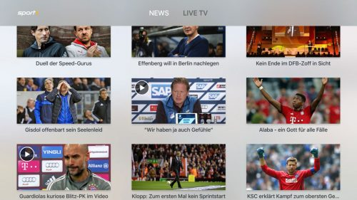 Sport1 Apple Tv
