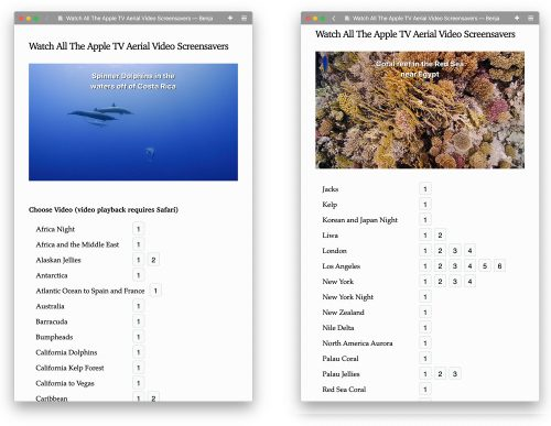 Unterwasser Videos Apple 1