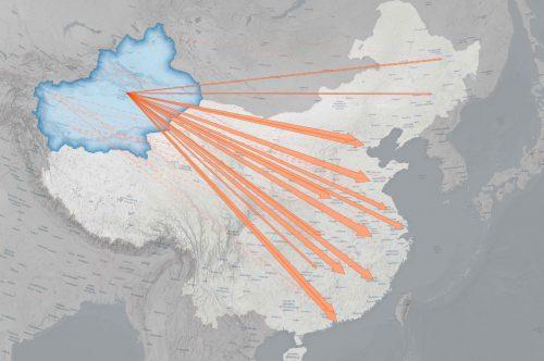 China Apple Uiguren