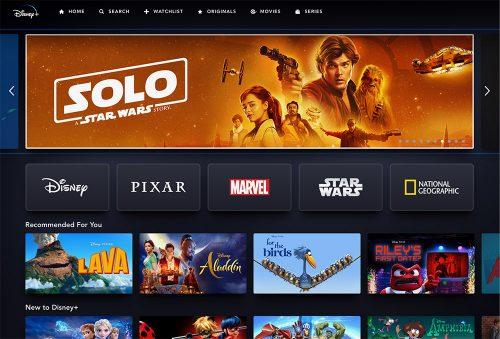 Disney Plus Screenshot