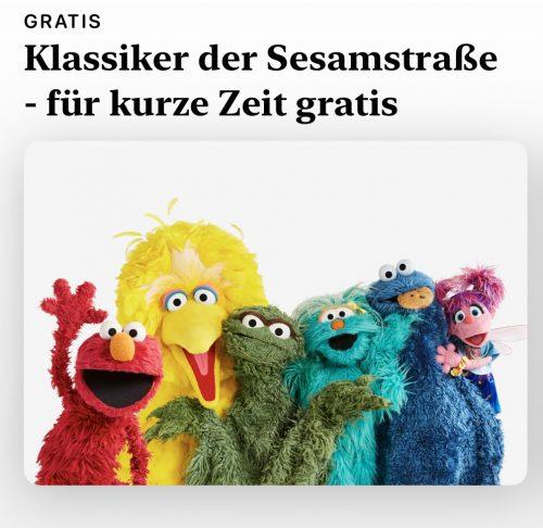 Klassiker Gratis Sesamstrasse