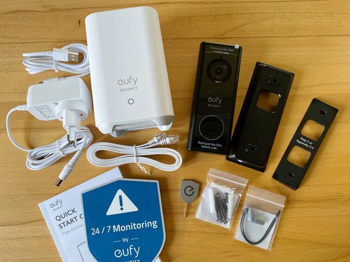 Eufy Video Doorbell Lieferumfang