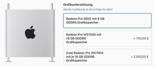 Mac Pro Mit Radeon 5700