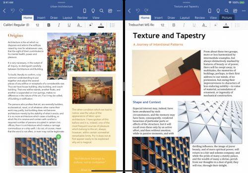 Microsoft Office Ipad Arbeit Mit Mehreren Fenstern