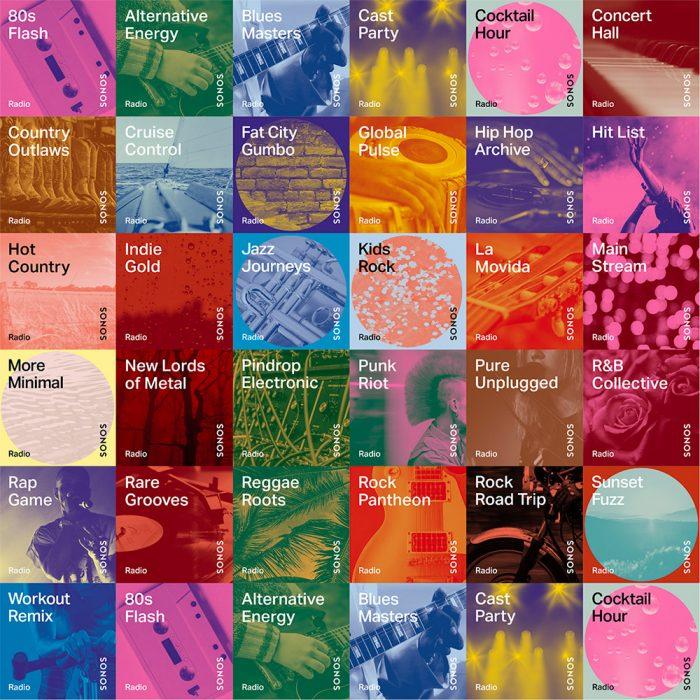 Sonos Stations Genre Sender
