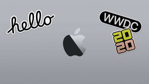 Apple Wwdc 2020 Stickers