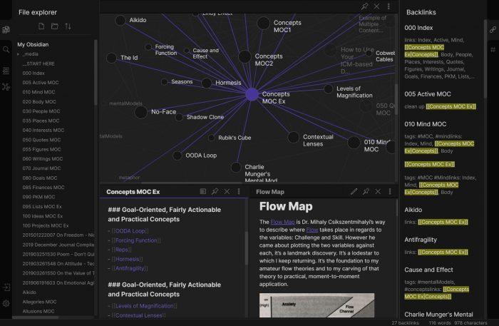 Obsidian Screenshot