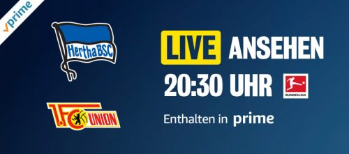 Prime Video Bundesliga Hertha Gegen Union Berlin