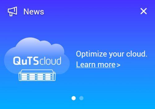 Quts Cloud Nas Werbung