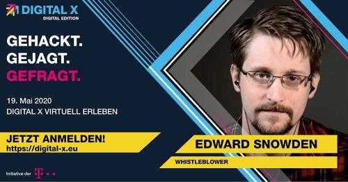 Telekom Digital X Mit Edward Snowden