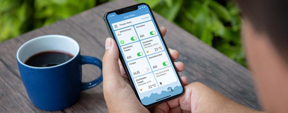 AVM startet Beta-Test für FRITZ!App Smart Home