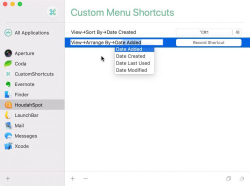 Customshortcuts Mac App