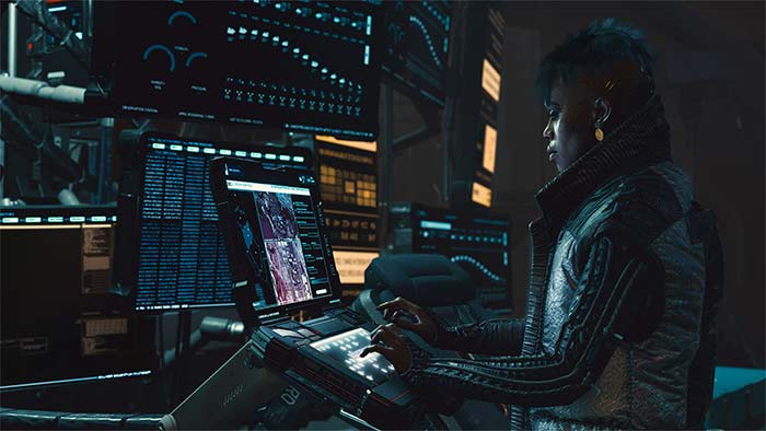 Cyberpunk 2077 Rigger