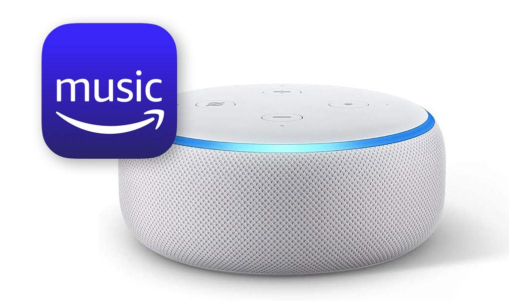 Amazon Music Unlimited Echo Dot